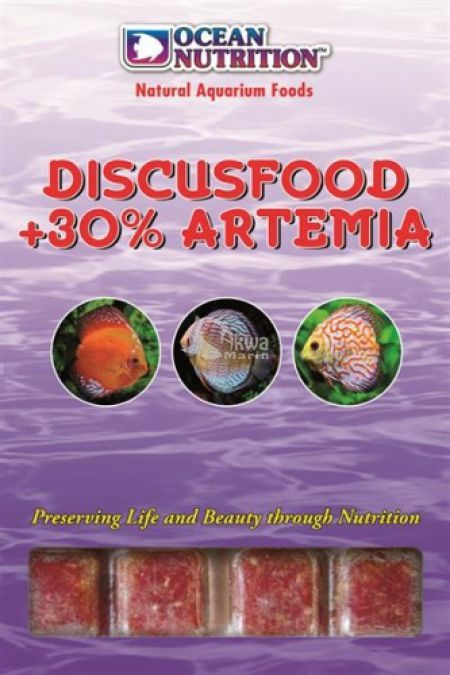 Discusfood + 30% Artemia